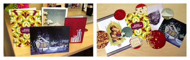 DIY Holiday Card Collage