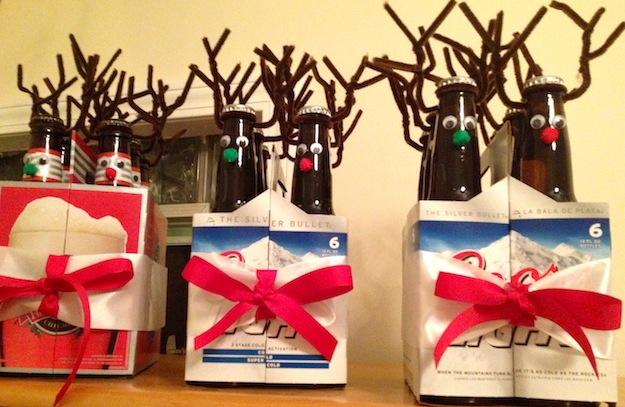 Easy Peasy Diy Gift For Men Rudolph The Red Nosed