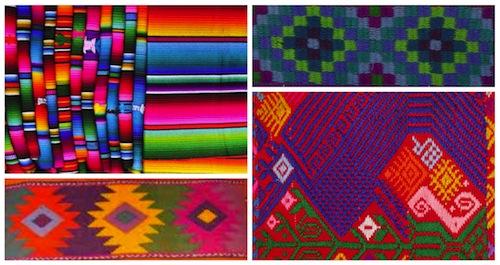 Mayan Textile Collage