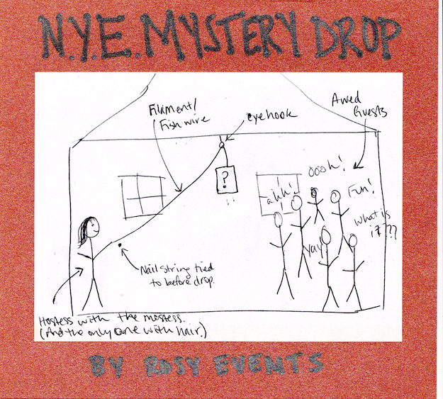NYE Mystery Drop Party Diagram
